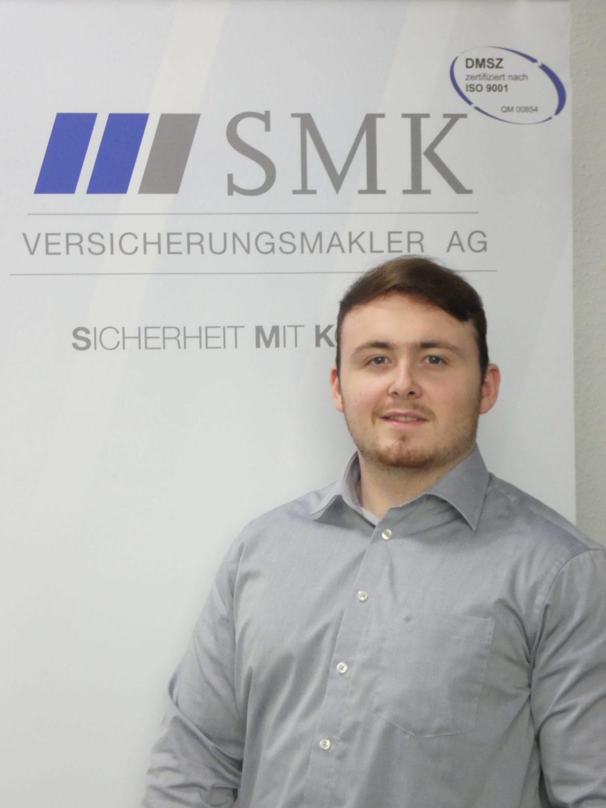 neuer Auszubildender bei SMK